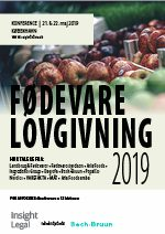 Fødevarelovgivning 2019