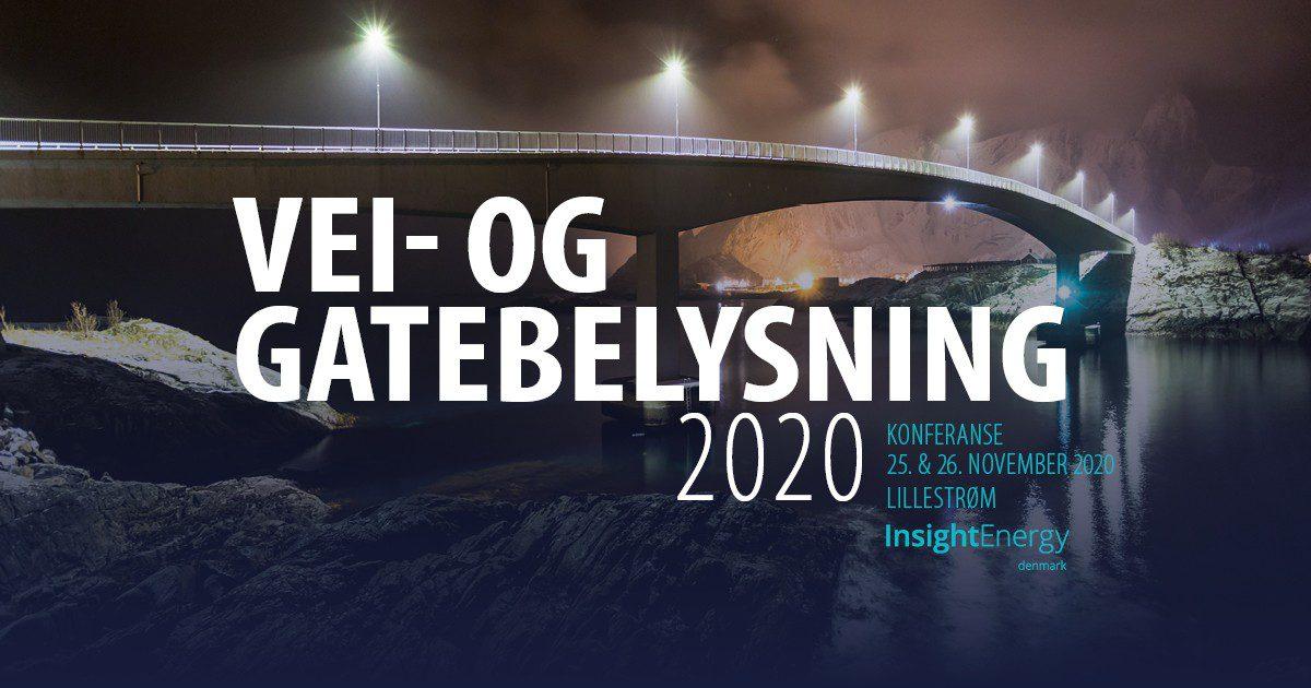 Vei- og gatebelysning 2020