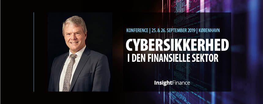 Billede af troels Ørting, der er ordstyrer på konferencen Cybersikkerhed i den finansielle sektor.