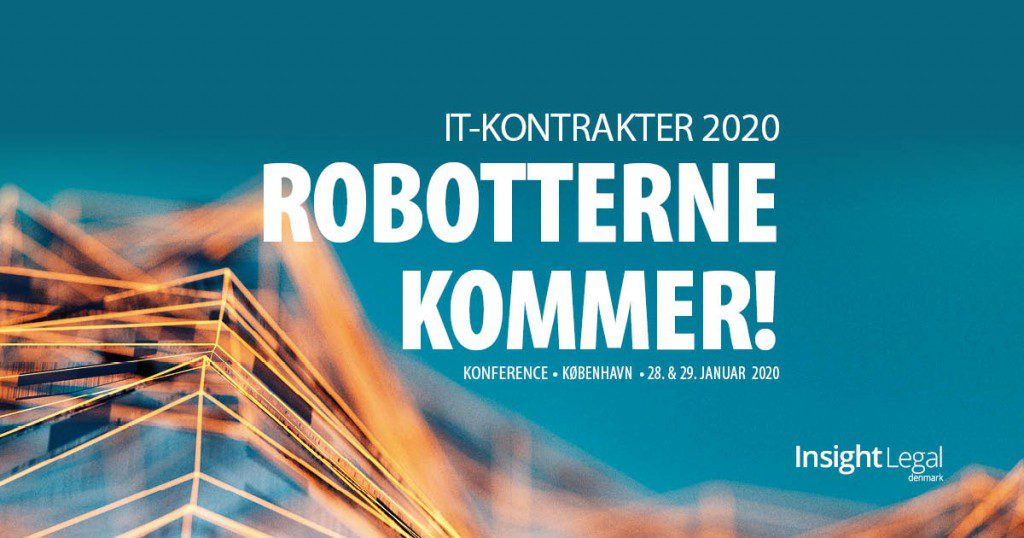 Robotterne kommet til jura - Legal Tech - IT-kontrakter