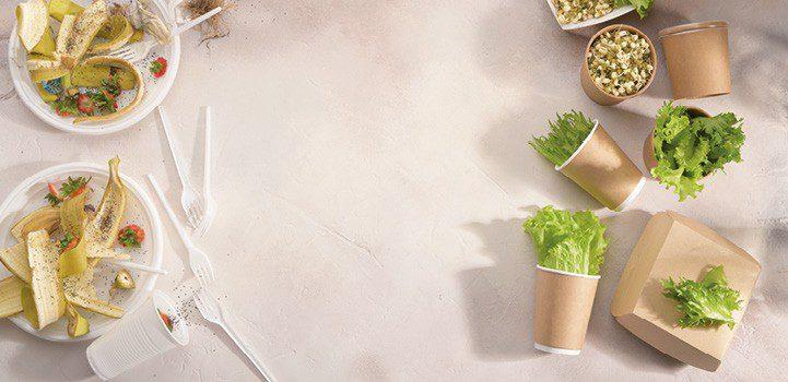 Bæredygtig fødevareemballage