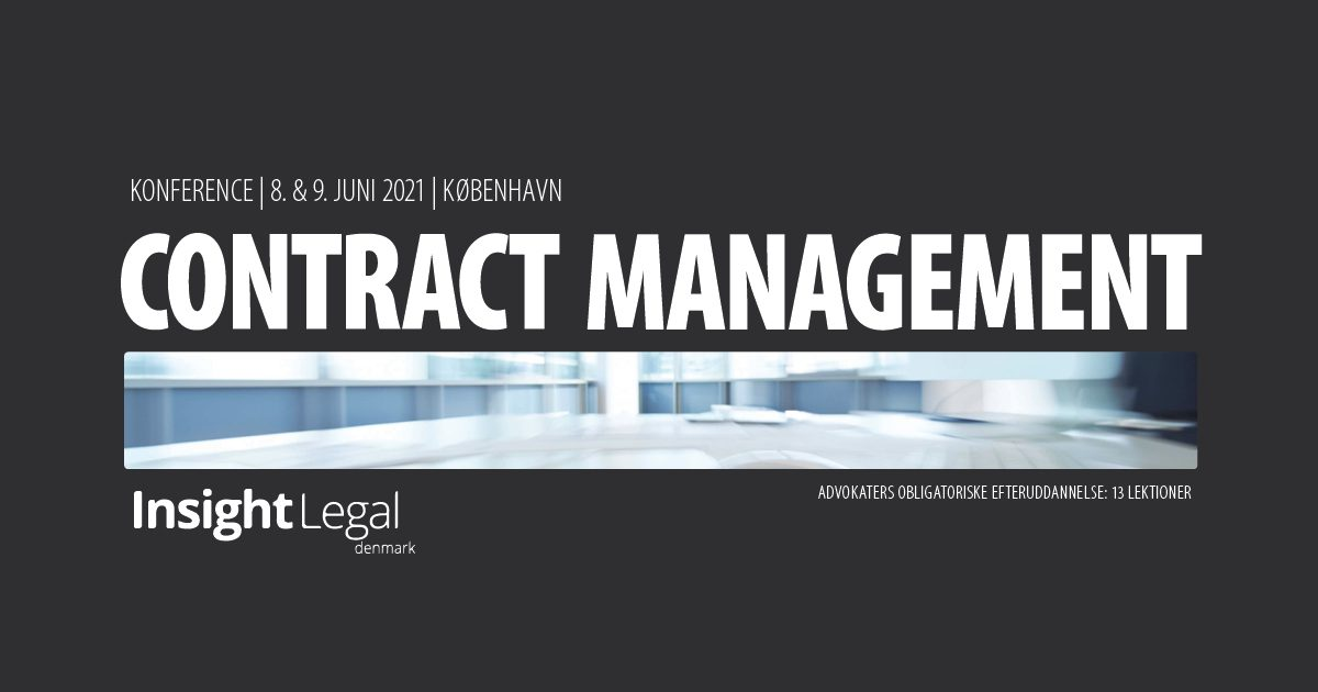 Contract Management – konference – Insight Legal
